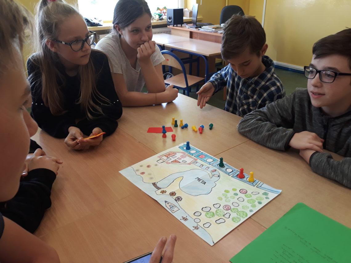 gry wykonane przez uczniów
