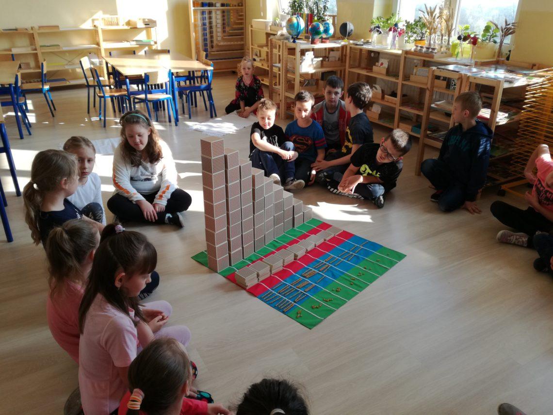 kl. II, Montessori 1